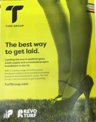 revo turf advert