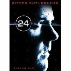 24 Season 2 DVD cover