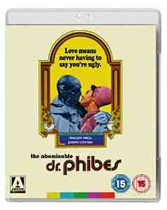 Abominable Dr Phibes Blu ray
