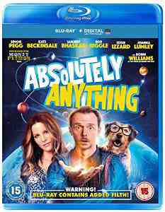 Absolutely Anything Blu ray Simon Pegg