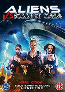 Aliens vs College Girls DVD