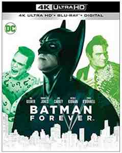 Batman Forever 4k Blu-ray