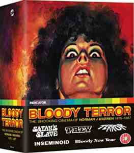 Bloody Terror: The Shocking Cinema of Norman J Warren, 1976-1987 Blu-ray