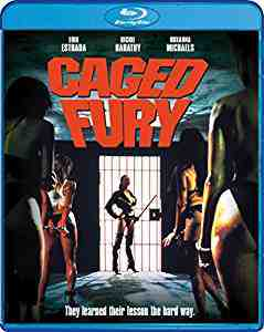 Caged Fury Blu-ray
