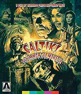 Caltiki The Immortal Monster DVDBlu-rayCombo