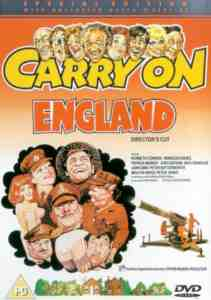 Carry On England DVD