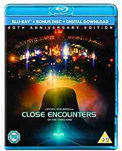 Close Encounters of the Third Kind - 40th Anniversary Blu-ray