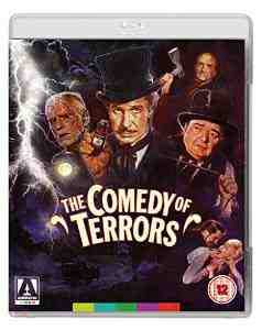Comedy Terrors Dual Format Blu ray