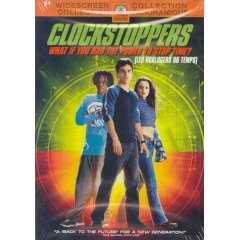 Clockstoppers DVD cover