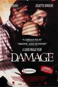 Damage DVD Jeremy Irons