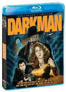 Darkman Collectors Blu ray Liam Neeson October
