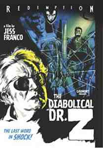 Diabolical Dr Z DVD