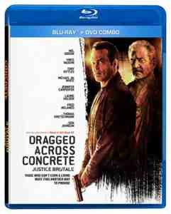 Dragged Across Concrete Justice Brutale Blu-ray