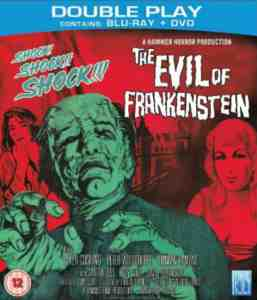 Evil Frankenstein Double Play Blu ray May