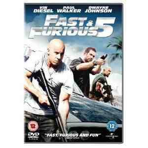 Fast Furious DVD Dwayne Johnson