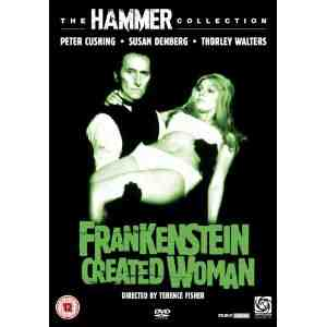 Frankenstein Created Woman DVD
