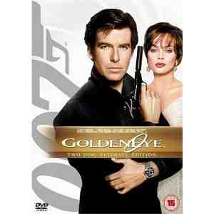 Goldeneye DVD Pierce Brosnan
