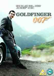 Goldfinger DVD Sean Connery