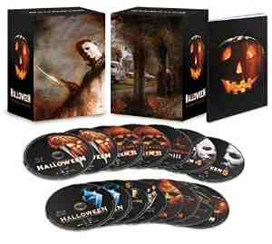 Halloween Complete Collection Limited Blu ray