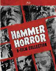 Hammer Horror 8 Film Collection Blu ray