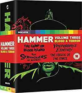 Hammer Vol 3 - Blood And Terror - Limited Edition Blu Ray Blu-ray