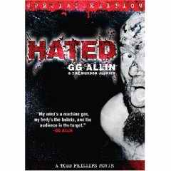 Hated GG Allin DVD