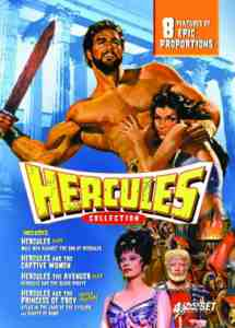 Hercules Collection DVD Region NTSC