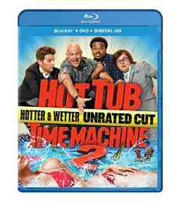Hot Tub Time Machine Blu ray unrated