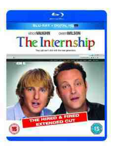 Internship Blu ray UV Copy october
