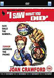 I Saw What You Did DVD