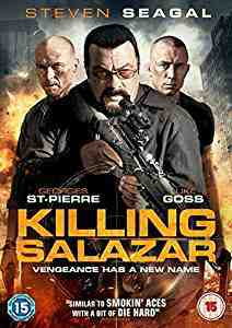 Killing Salazar DVD Luke Goss