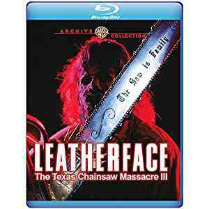 Leatherface: The Texas Chainsaw Massacre III 1990 Blu-ray
