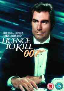 Licence Kill DVD Timothy Dalton
