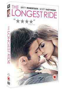 Longest Ride DVD Britt Robertson
