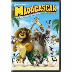 Madagascar DVD cover