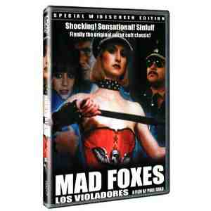 Mad Foxes DVD Region NTSC
