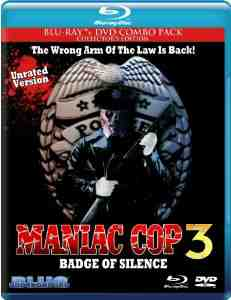 Maniac Cop Badge Silence Blu ray