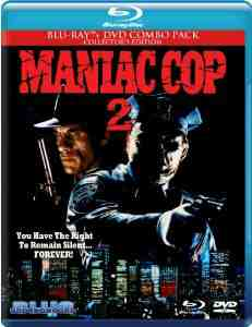 Maniac Cop Blu ray Combo Pack