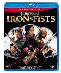 Man Iron Fists Blu ray
