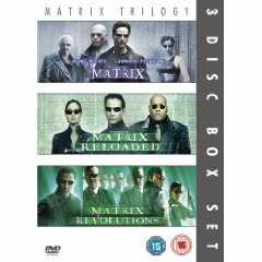 Matrix Trilogy 3 Disc Set Revolutions