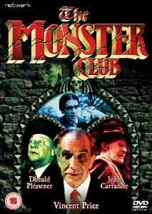 Monster Club DVD Vincent Price