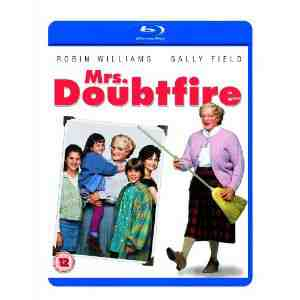 Mrs Doubtfire Blu ray Robin Williams