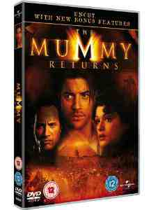 Mummy Returns DVD Rachel Weisz