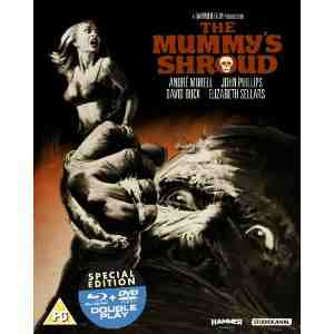 Mummys Shroud Double Play Blu ray
