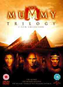 Mummy Trilogy DVD UV Copy