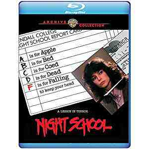 Night School Blu-ray