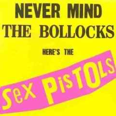 Never Mind the Bollocks CD cover
