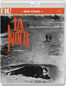 NOTTE NIGHT Masters Cinema Blu ray