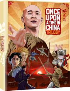 Once Upon A Time In China Trilogy Blu-ray