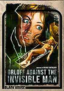 Orloff Against the Invisible Man DVD
